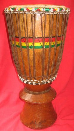Ghana Djembe Drum 12″ – Cedar Mountain Drums