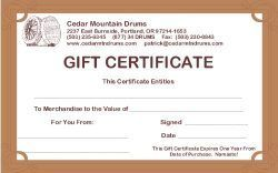 Gift Certificates & Donations