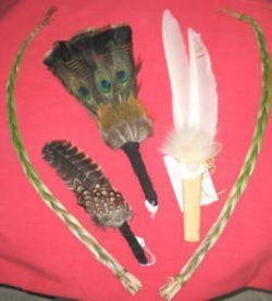 Smudge Fans & Feathers