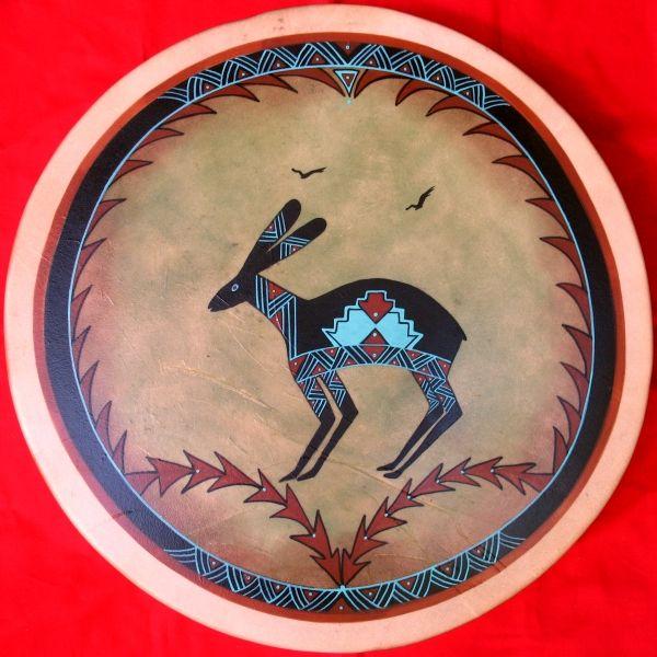 Columbia River Petroglyph Drums by Rose Briseno